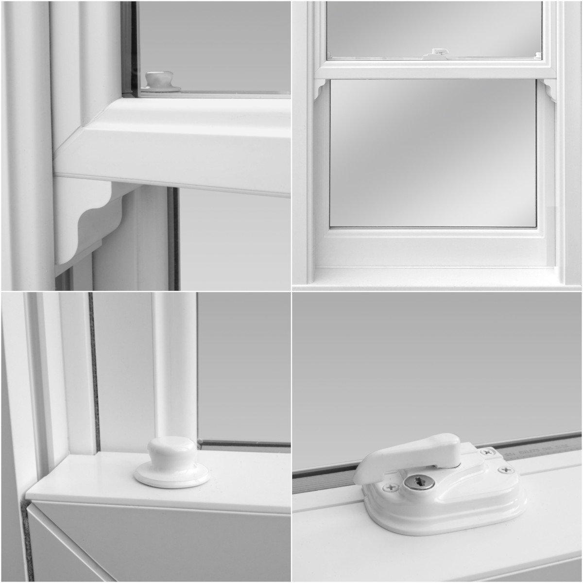 upvc sash windows features