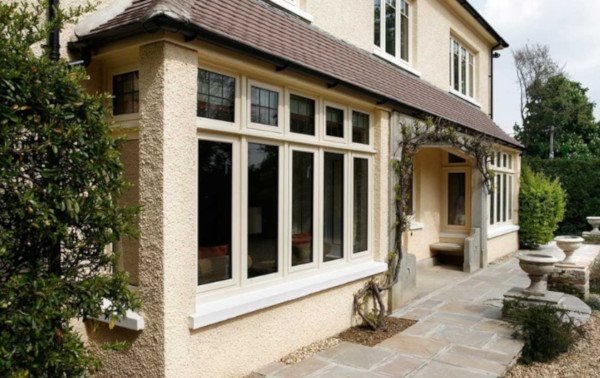 aluminium casement windows house