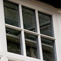 Astragal bars casement windows