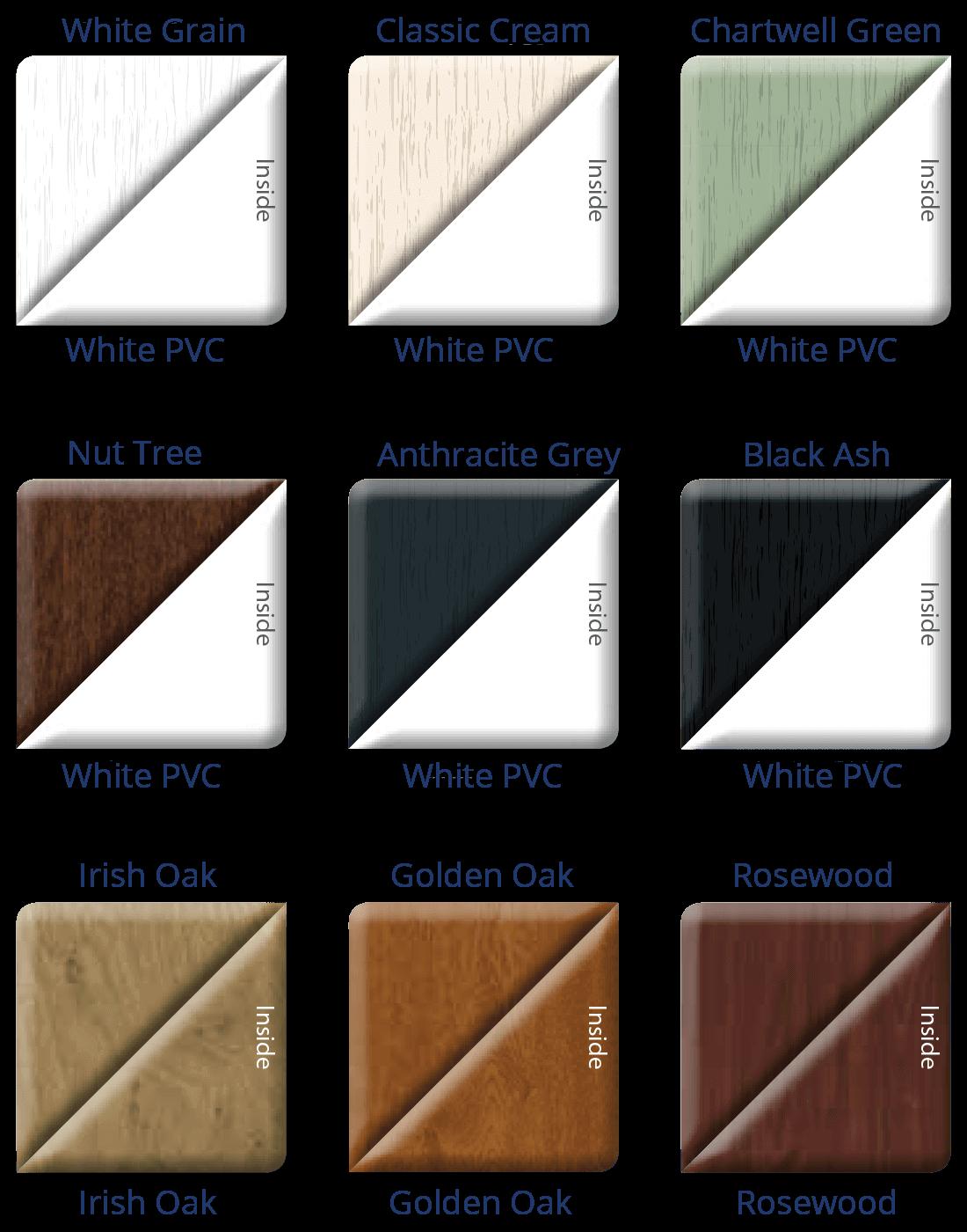 uPVC Patio Doors Colours 1