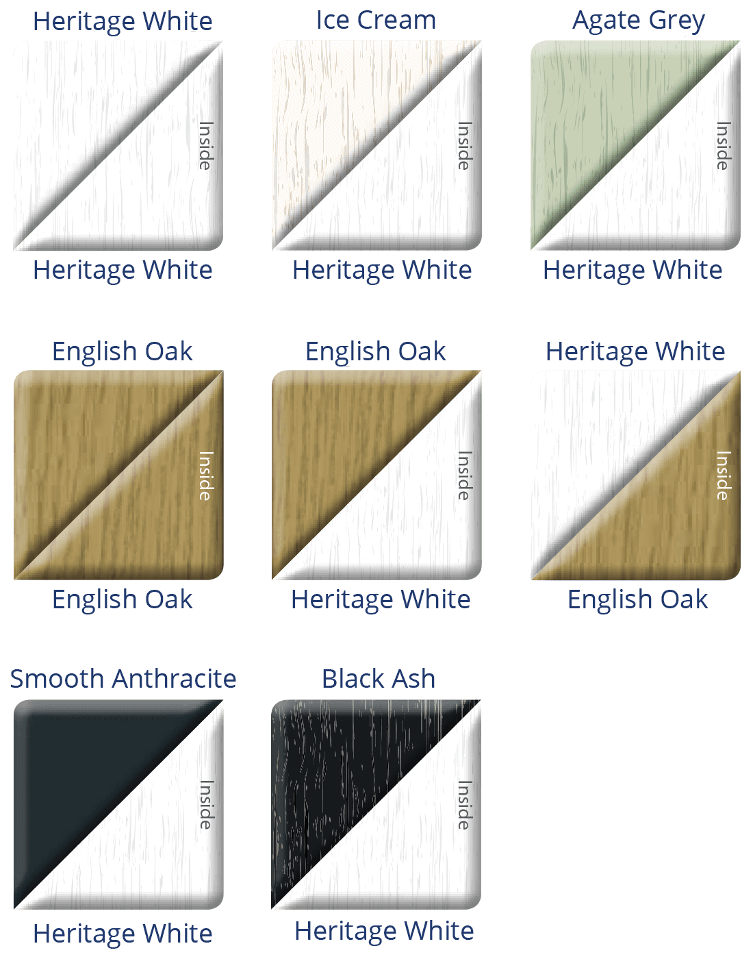 uPVC Patio Doors Colours 2