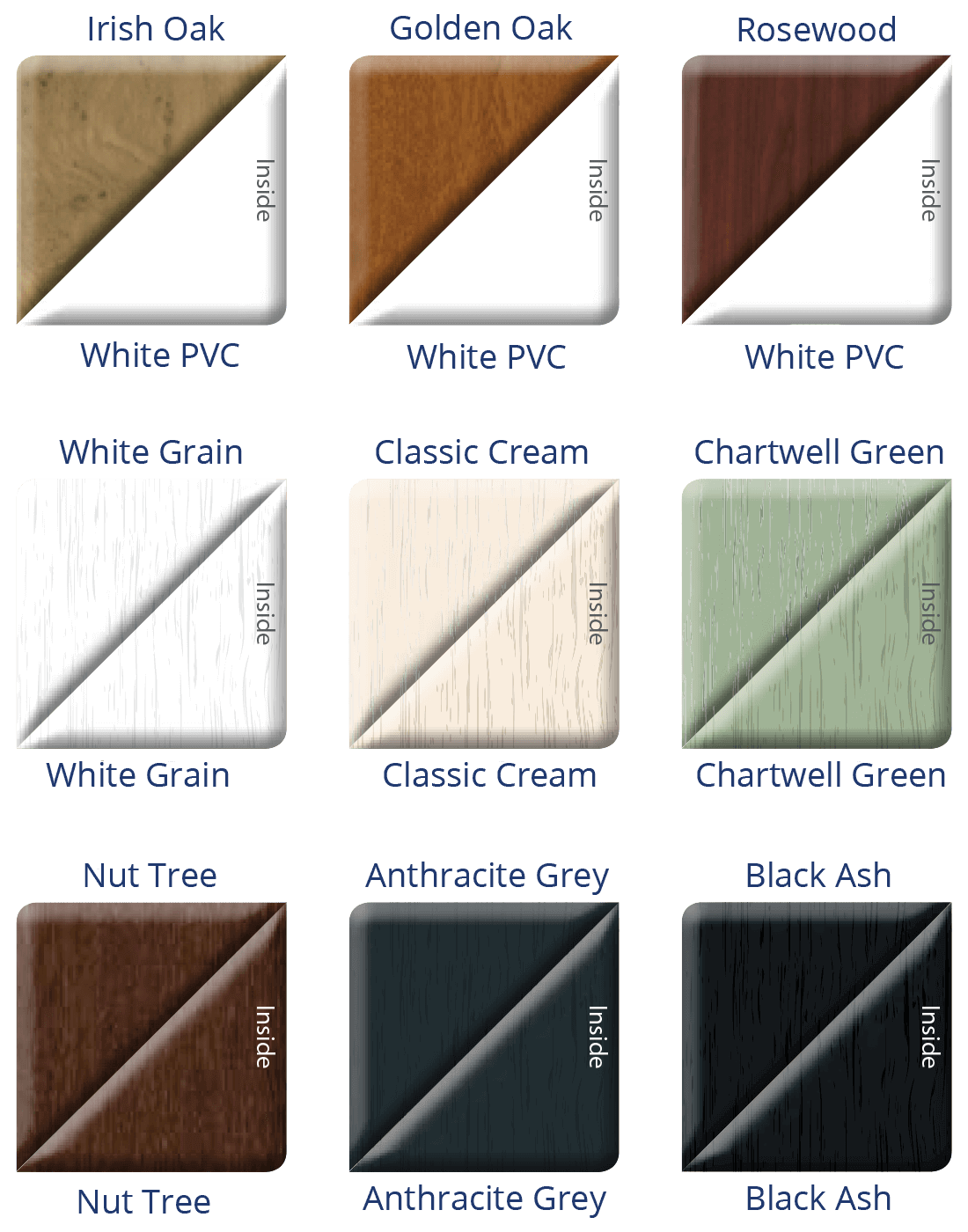 uPVC Patio Doors Colours 3
