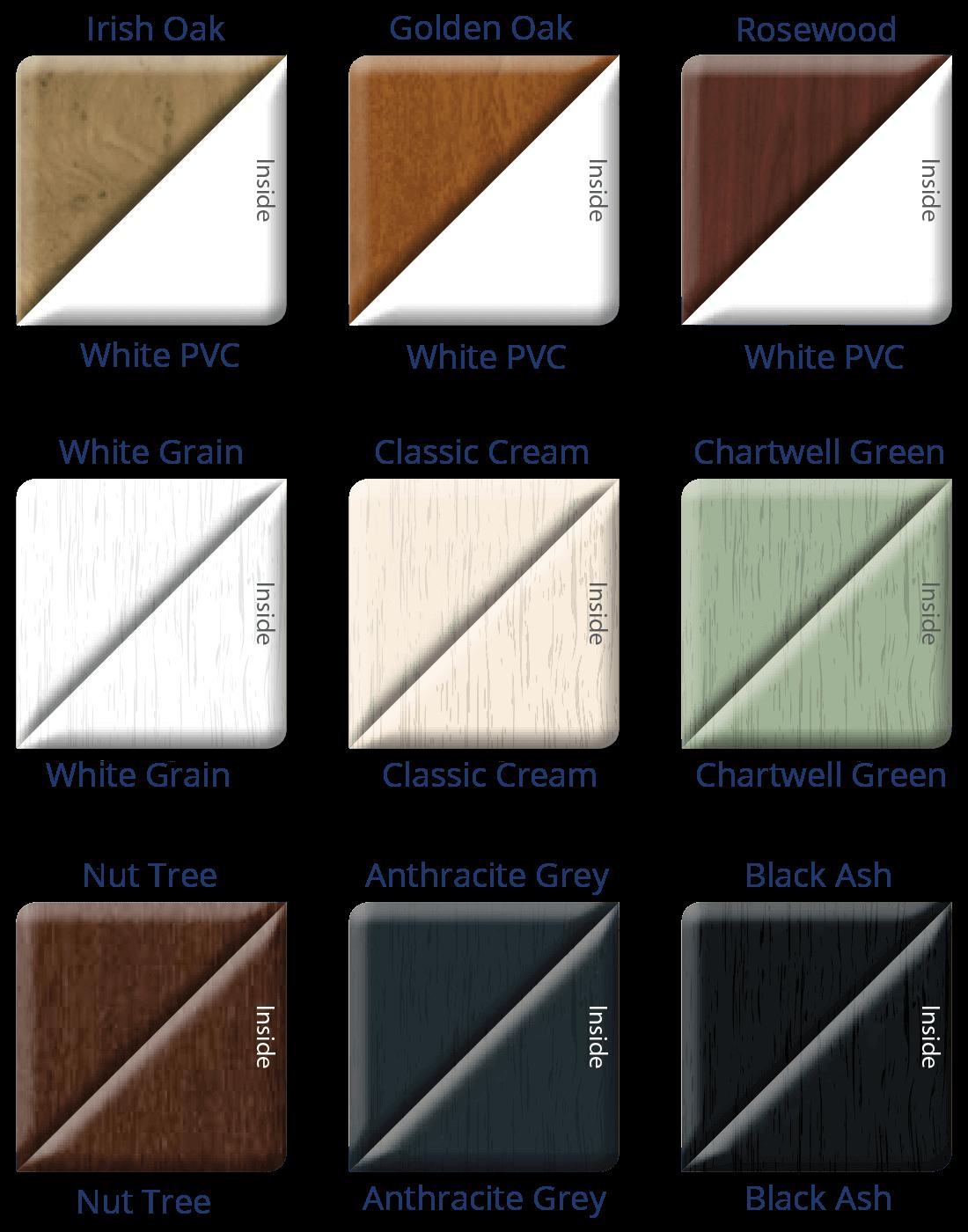 uPVC Patio Doors Colours 3
