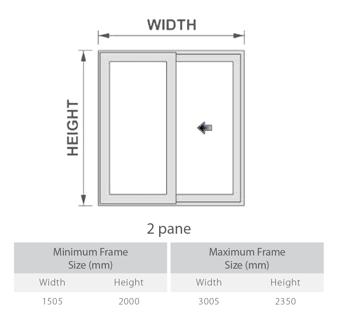 uPVC Patio Doors Configurations 1