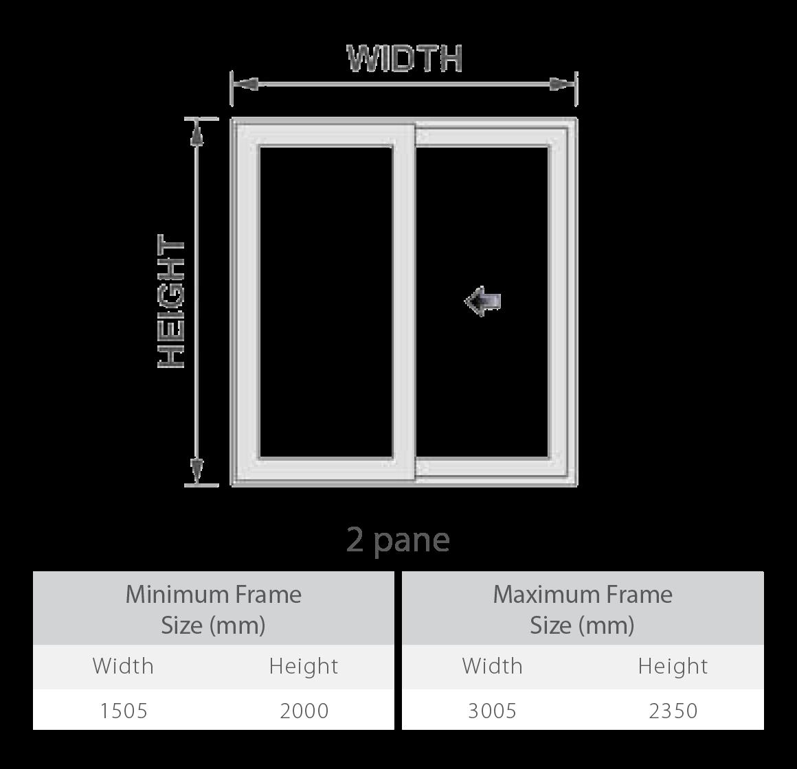 uPVC Patio Doors Configurations 1