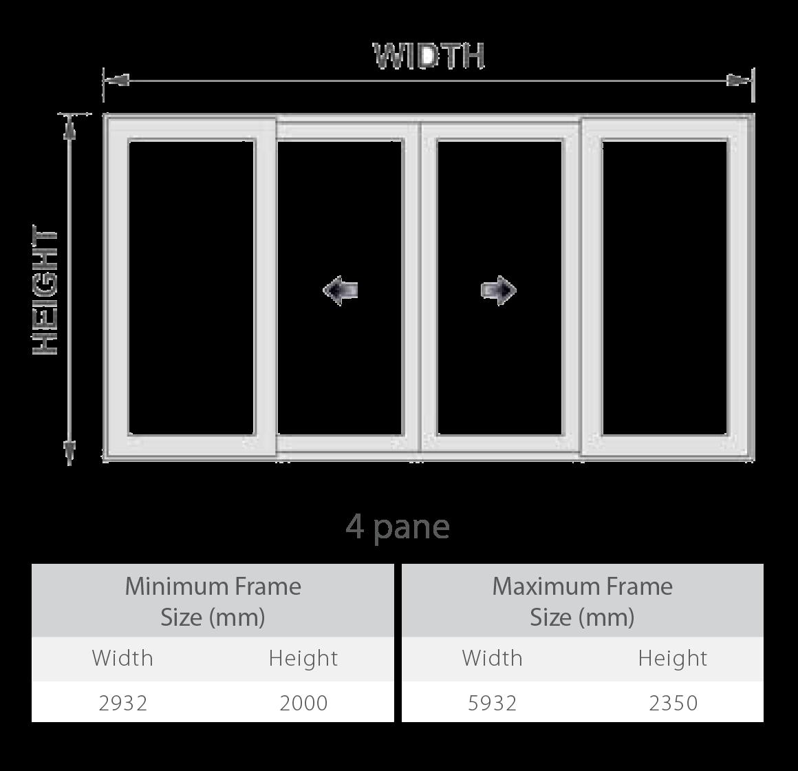 uPVC Patio Doors Configurations 4