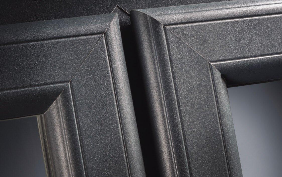 uPVC casement windows profile