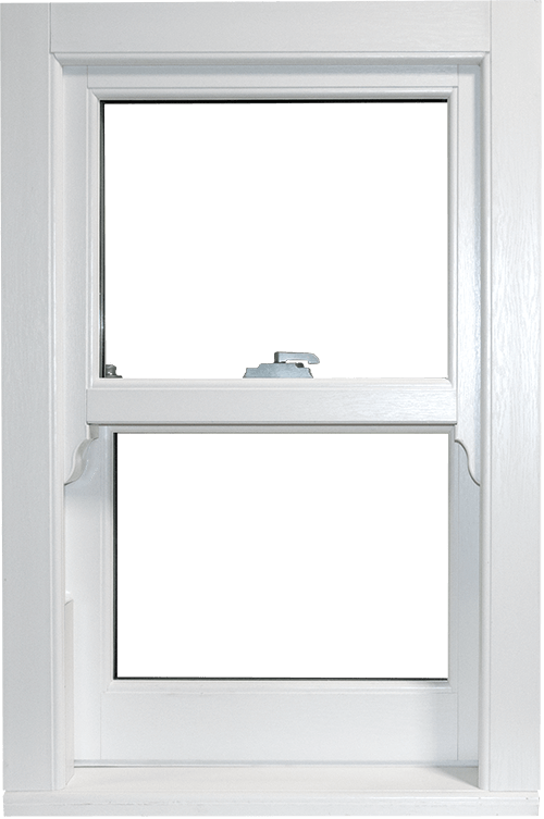 Mechanically jointed uPVC sash