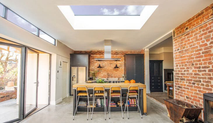 Flat rooflight lanterns